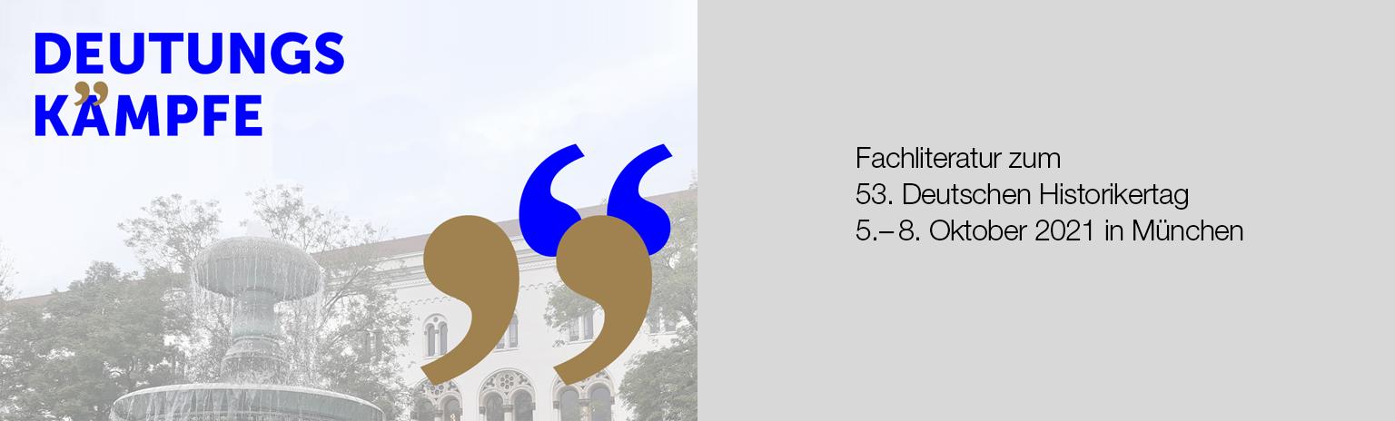 Fachliteratur zum 53. Deutschen Historikertag