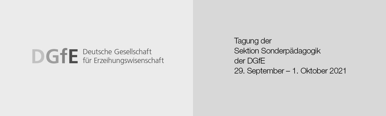 Digitaler Büchertisch zur DGFE-Sektionstagung Sonderpädagogik Würzburg