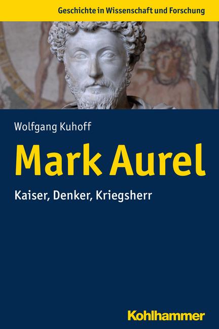 """Umschlag von """"Mark Aurel"""""""