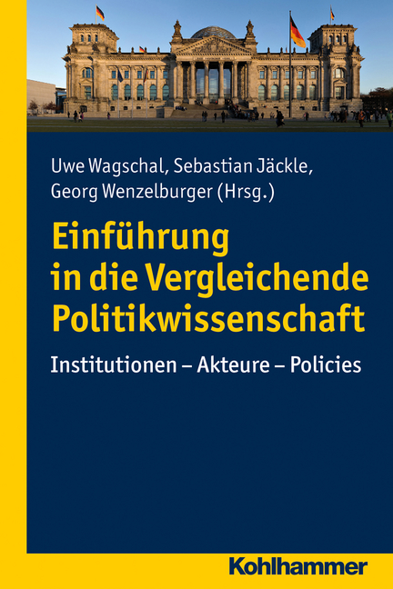 """Umschlag von """"Einführung in die Vergleichende Politikwissenschaft"""""""