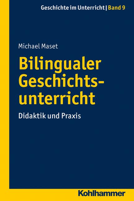 """Umschlag von """"Bilingualer Geschichtsunterricht"""""""