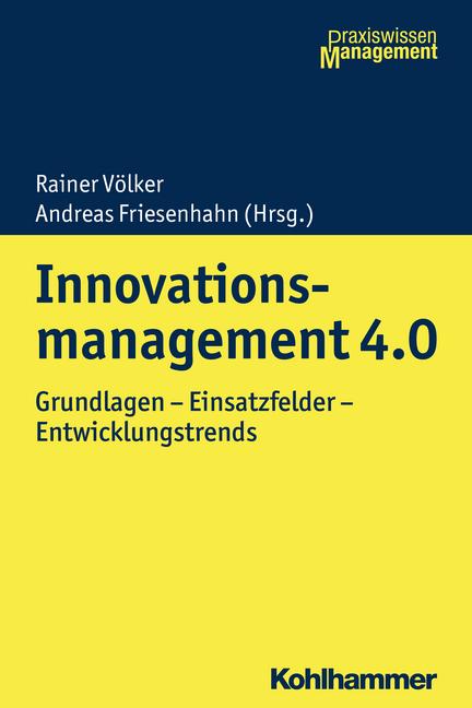 """Umschlag von """"Innovationsmanagement 4.0"""""""