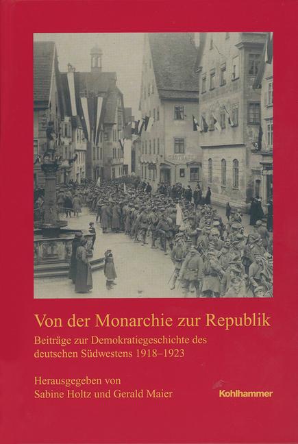 """Umschlag von """"Von der Monarchie zur Republik"""""""