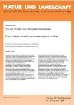 """Von der """"Urnatur"""" zum Ökosystemdienstleister"""