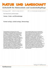 Human-, Kultur- und Ethnoökologie