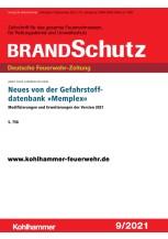 """Neues von der Gefahrstoffdatenbank """"Memplex"""""""