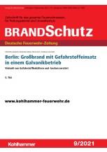 Berlin: Großbrand mit Gefahrstoffeinsatz in einem Galvanikbetrieb