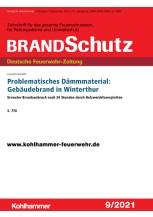 Problematisches Dämmmaterial: Gebäudebrand in Winterthur