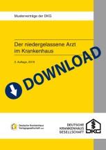 """Download-Paket """"Der niedergelassene Arzt im Krankenhaus I: Belegarztvertrag/Kooperativer Belegarztvertrag"""""""