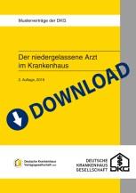 """Download-Paket """"Der niedergelassene Arzt im Krankenhaus V: Mietvertrag Praxis im Krankenhaus"""""""