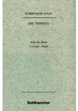 Rabbinische Texte, Erste Reihe: Die Tosefta. Band II: Seder Moëd