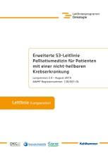 Erweiterte S3-Leitlinie Palliativmedizin für Patienten mit einer nicht-heilbaren Krebserkrankung