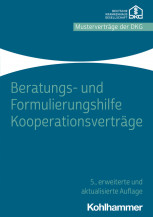 Beratungs- und Formulierungshilfe Kooperationsverträge