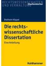 Die rechtswissenschaftliche Dissertation