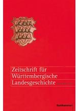 Zeitschrift für Württembergische Landesgeschichte