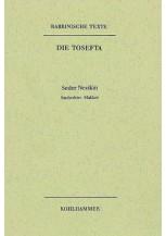 Rabbinische Texte, Erste Reihe: Die Tosefta. Band IV: Seder Nezikin