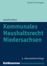 Kommunales Haushaltsrecht Niedersachsen